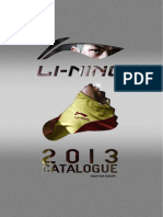 LI-NING Europa Badminton Catalogue & PriceList 2013
