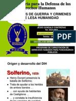 Crimenes de Guerra y Lessa Humanidad Universidad Luterana