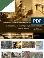 CONTEM 2014 - As perspectivas da mineração na região amazônica