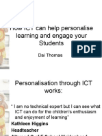 How ICT Can Help Personalise Learning and Engage Your Students