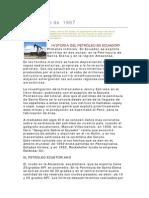 Cepe y El Petroleo en El Ecuador_varios