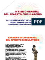 Examen Fisico General Del Aparato Circulatorio