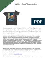 Acquistare Mens  magliette  A  Crea  a  Vibrant   Adesione