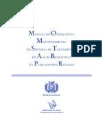 Manual de Tratamiento de Aguas Negras