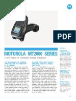 MT2000 Series Spec Sheet