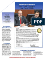 2014 Dibble Hornstein End of Session Newsletter
