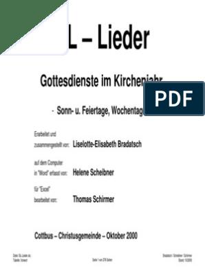 Gotteslob-Lieder pdf