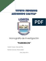 Investigacion Parkinson