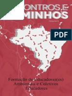 Livro Encontros e Caminhos Vol. 3