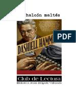 Dashiell Hammett Halcon Maltes