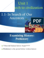 1 - In Search of Our Ancestors