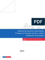 20140421 Manual Del Docente Examinador VE 2014 (Online)