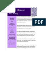 Parent to Parent Mentor Training