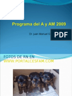 Programa Del Adulto AM 2009
