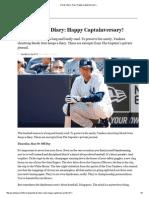 Derek Jeter's Diary_ Happy Captainversary! «