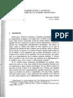 Marin, M. - Sobre Alimentación y Sociedad (El Texto Árabe de La Guerra Deleitosa)