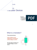 Transistor Devices