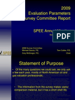 5 TomCollier SPEE Annual Parameters Survey