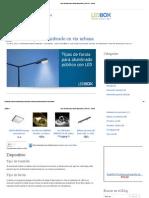 Tipos Farolas Para El Alumbrado Público _ Info Led - Ledbox