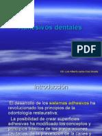 Adhesivos Dentales
