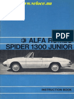 Alfa Romeo Spider 1300 Junior
