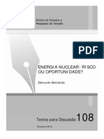 Energia Nuclear Risco