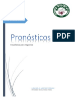 Pronosticos (Estadistica Para Negocios )