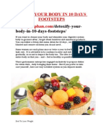 Detoxify Your Body in 10 Days Footsteps - http://praphan.com/detoxify-your-body-in-10-days-footsteps/