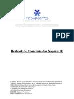 RESUMARTS - Resbook de Economia das Nações (Parte II)