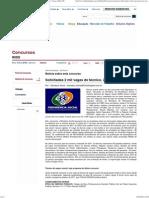 Folha Dirigida _ Concursos _ INSS _ Solicitadas 2 mil vagas de técnico. 2º grau e R$4