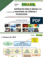 CONTEM 2014 - Minerais Estratégicos para o Brasil