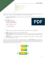 Unidad III.- Listas Enlazadas en Java - Documento Básico