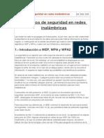 Protocolos de Seguridad en Redes Inalámbricas