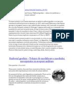 Razboiul Geofizic Tehnici de Modificare a Mediului Inconjurator in Scopuri Militare1