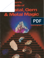 magic - cunningham's encyclopedia of crystal, gem, and metal magic - (scott cunningham) llewellyn publications 1996