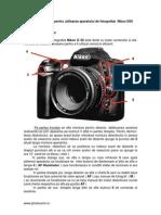 Ghid Utilizare Nikon D50
