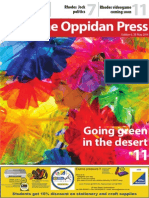 The Oppidan Press Edition 6 2014