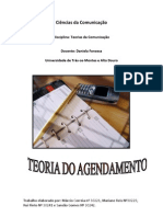 Teoria Do Agenda Men To