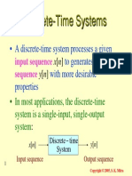 Discrete Time System