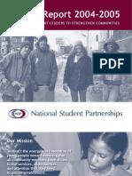 NSP Impact Report 2005
