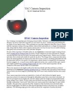 HVAC Camera Inspection