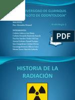 Historia de La Radiación