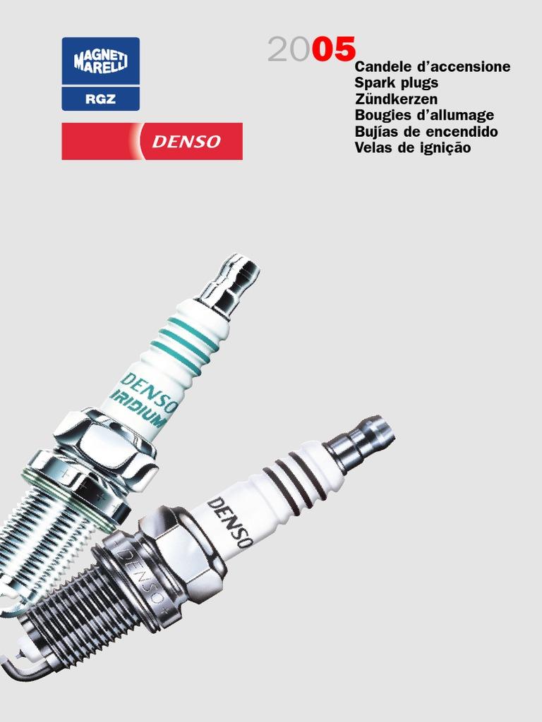 4x VW Scirocco 137 1.4 STI ORIG DENSO Iridium Power SPARK PLUGS