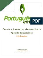 Apostila_,de_Exercicios_-_Assuntos_Gramaticais
