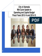 Mid Cycle Update Powerpoint - City of Alameda