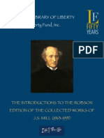 Introduction to collected works of John Stuart Mill