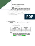 Analisis y Diseño de Elementos Estructurales