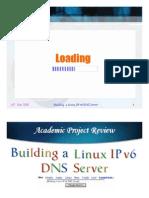 Building Linux IPv6 DNS Server