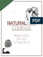 Natural Hair Company - Media Plan