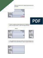 Formulas Financieras Pago